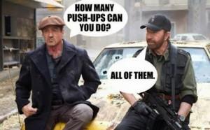 Chuck Norris Pushups